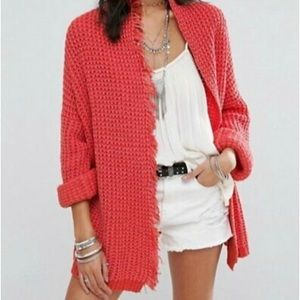 📌NWT Free People I'll Be Around Slouchy Cardigan